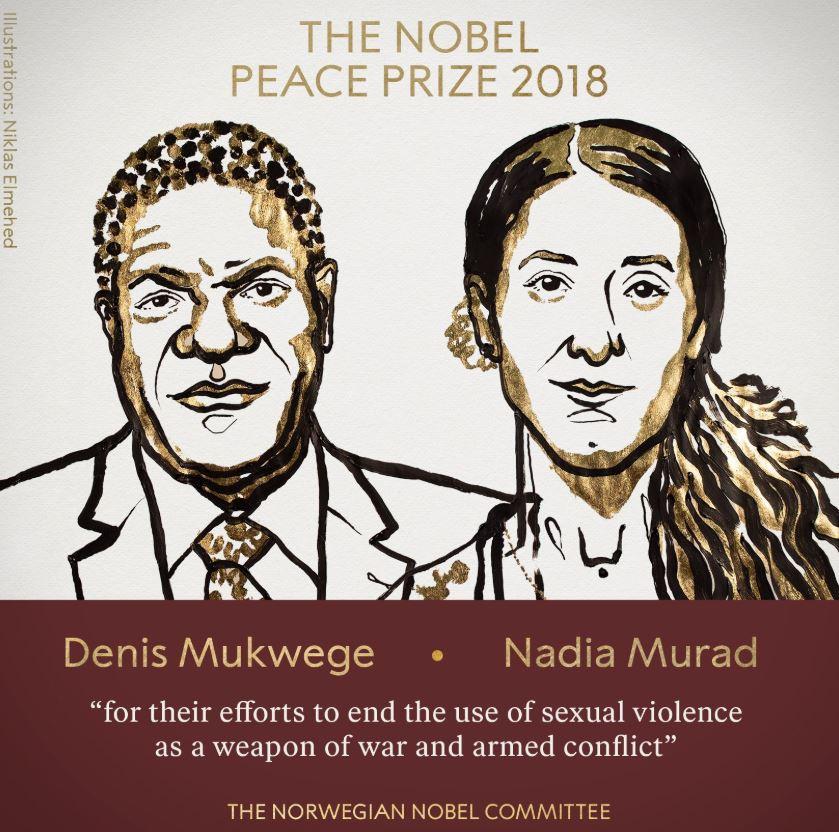 La conmovedora historia de los ganadores del Nobel de la Paz