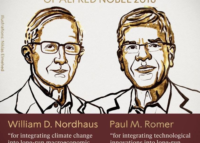 premio nobel economia 2018 william nordhaus y paul romer