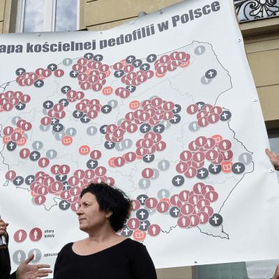 Crean mapa de abusos sexuales cometidos por clérigos católicos en Polonia