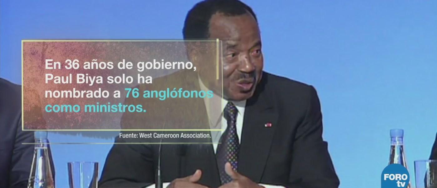 Presidente Camerún Va Séptimo Periodo Presidencial