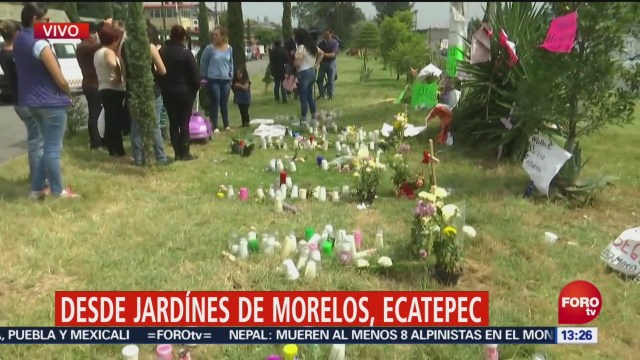 Realizan Memorial Víctimas Monstruo Ecatepec