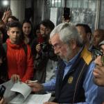 Rector de la UNAM recibe pliego petitorio de estudiantes