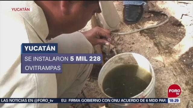 Refuerzan medidas contra el zika en Yucatán