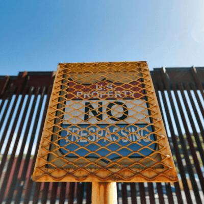 Trump hará anuncio sobre muro fronterizo en noviembre
