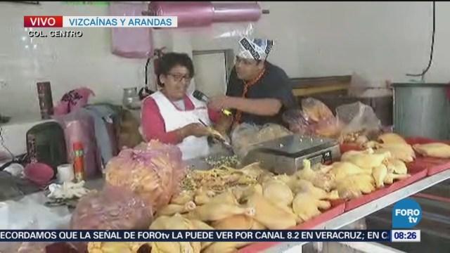 Repor entrevista a polleros en Vizcaínas y Arandas
