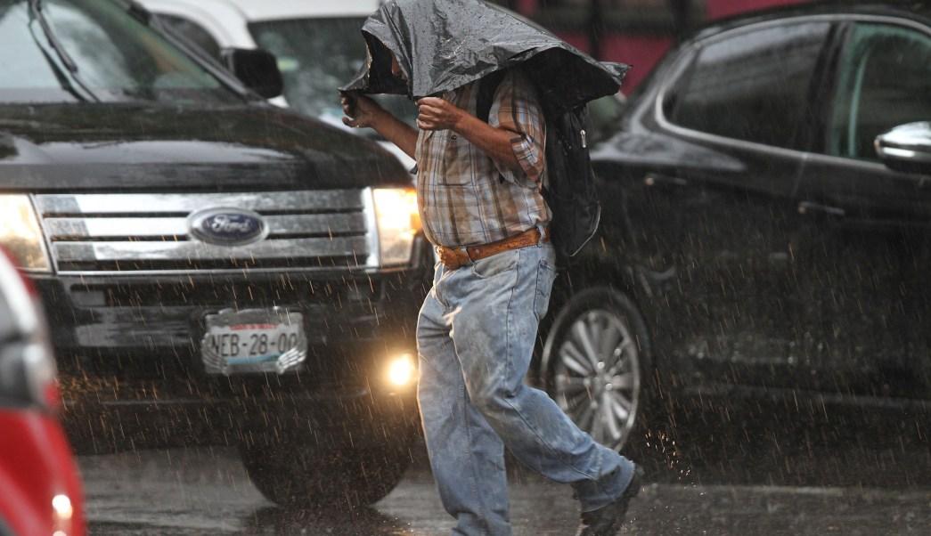Lluvias hoy lunes 8 de octubre en la CDMX