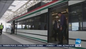 Reportan más de 90% de avance en 5 estaciones del Tren Interurbano