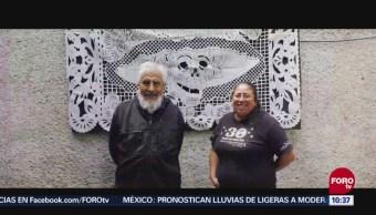 Retratos de México Papel picado para Día de Muertos