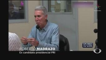 Roberto Madrazo Reaparece Habla Elección Presidencial 2006