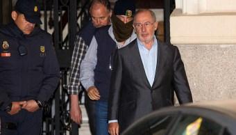 Rodrigo Rato ingresa a prisión por corrupción en Caja Madrid