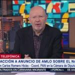 Romero Hicks: 'Dictadura de la ocurrencia', decisión de AMLO sobre nuevo aeropuerto