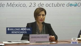 Rosario Robles presenta estudio sobre zona oriente del Valle de México