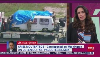 Detenido Paquetes Bomba Críticos De Trump Docena De Paquetes Bomba Historial Criminal