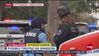 Reportan Tiroteo Sinagoga Pittsburgh Pensilvania
