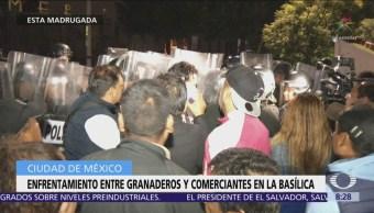 Se registra enfrentamiento entre policías CDMX y comerciante