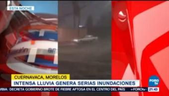 Reportan Severas Inundaciones En Cuernavaca Morelos