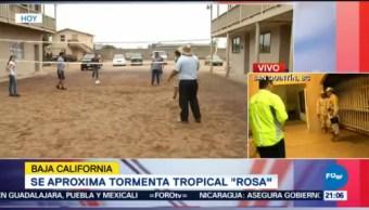 Tormenta Rosa Llegará Madrugada Baja California Impacto