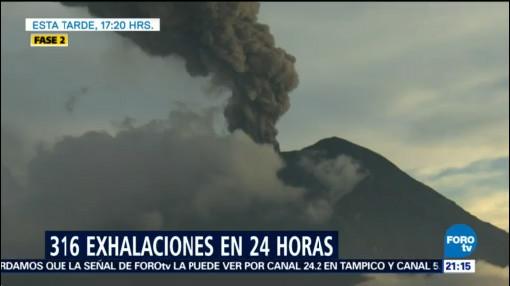 Volcán Popocatépetl Registra Explosión 3 Kilómetros Altura