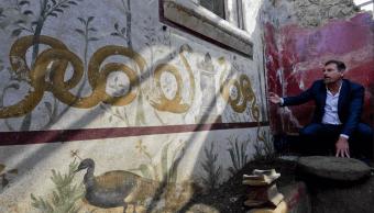 Pompeya: Nuevas excavaciones revelan espectacular altar