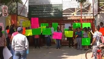 SEP condena abusos en kínder de Gustavo A. Madero y pide justicia