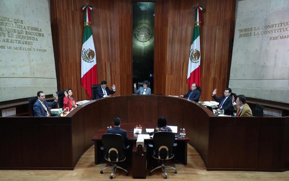 TEPJF confirma sanción al PES por irregularidades