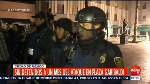 Sin Detenidos Mes Ataque Plaza Garibaldi