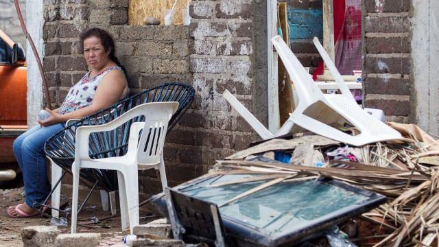 Huracán 'Willa' deja más de 30 mil damnificados en Sinaloa