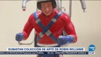 Subastan colección de arte de Robin Williams