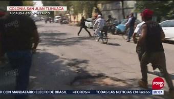 Sujetos Agreden Reportero FOROtv Alcaldía Azcapotzalco