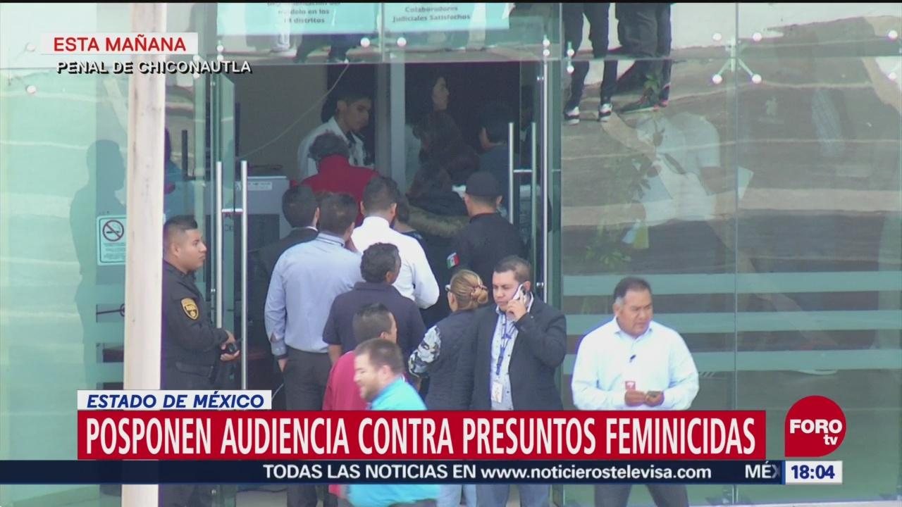 Suspenden audiencia de presunto asesino serial de Ecatepec