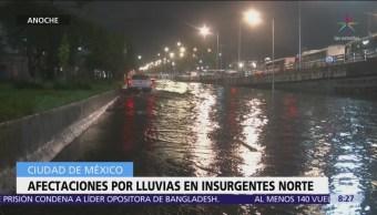 Tormenta inunda estación del Metro Indios Verdes