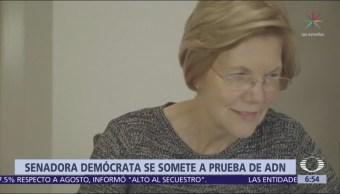 La senadora Elizabeth Warren prueba su origen indígena