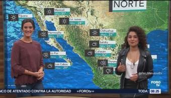 Tormenta Sergio se aproxima a Baja California