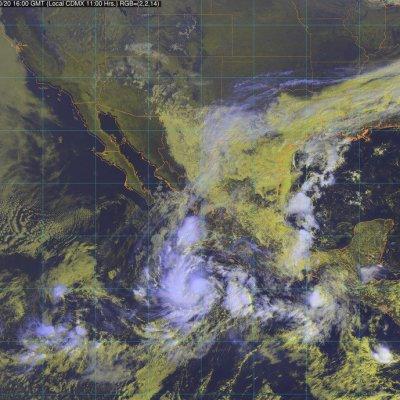 Se forma la tormenta tropical 'Willa' frente a Colima y Michoacán