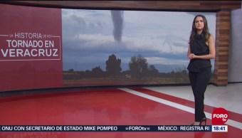 Tornados causan daños en viviendas en el sur de Veracruz