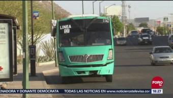 Transporte público en Hermosillo, Sonora, en malas condiciones