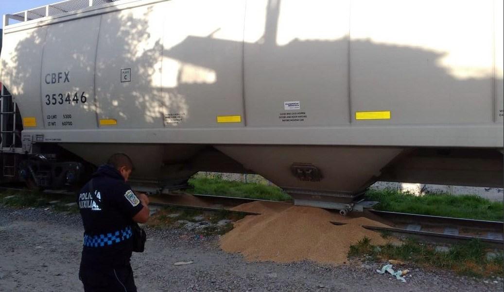 roban tren de carga en Puebla; no hay detenidos