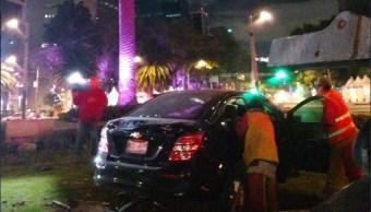 Tres accidentes automovilísticos dejan un muerto y dos heridos en CDMX