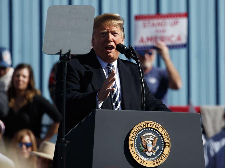 Trump agradece de nuevo a México acciones para frenar a hondureños