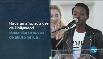 Año Lucha Contra Acoso Sexual Movimiento Mundial Me Too