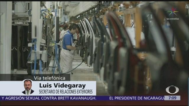 Videgaray Peña Nieto firmará acuerdo USMCA