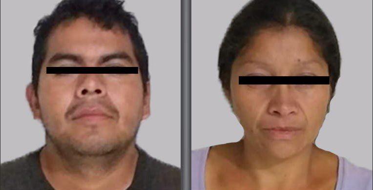 Detienen en Edomex a pareja presuntamente relacionada con 10 feminicidios