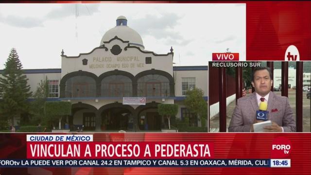 Vinculan a proceso a presunto pederasta Ramón N