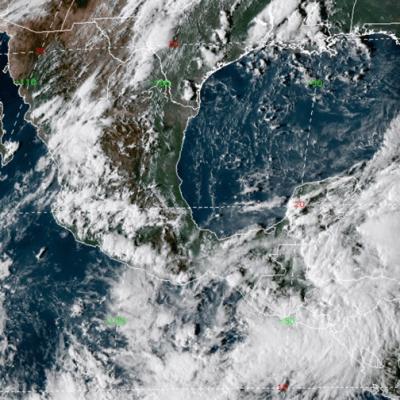 Alerta en Quintana Roo por depresión tropical en el Mar Caribe