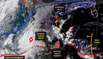 vicente willa tormentas fuertes clima tropicales
