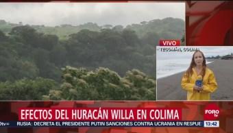 Willa y Vicente golpearán simultáneamente a Colima