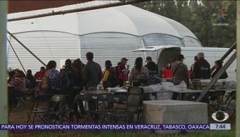 400 migrantes centroamericanos llegan a la CDMX