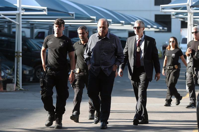 arrestan gobernador de rio de janeiro por corrupcion