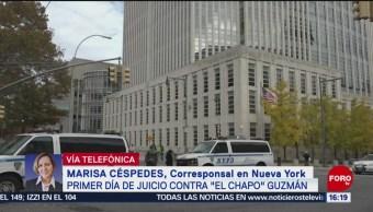 Abogado de El Chapo pide que el jurado tenga mente abierta