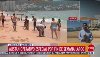 Acapulco mantiene temperaturas sobre 30 grados
